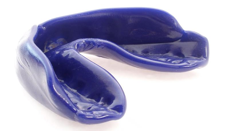 purple mouthguard