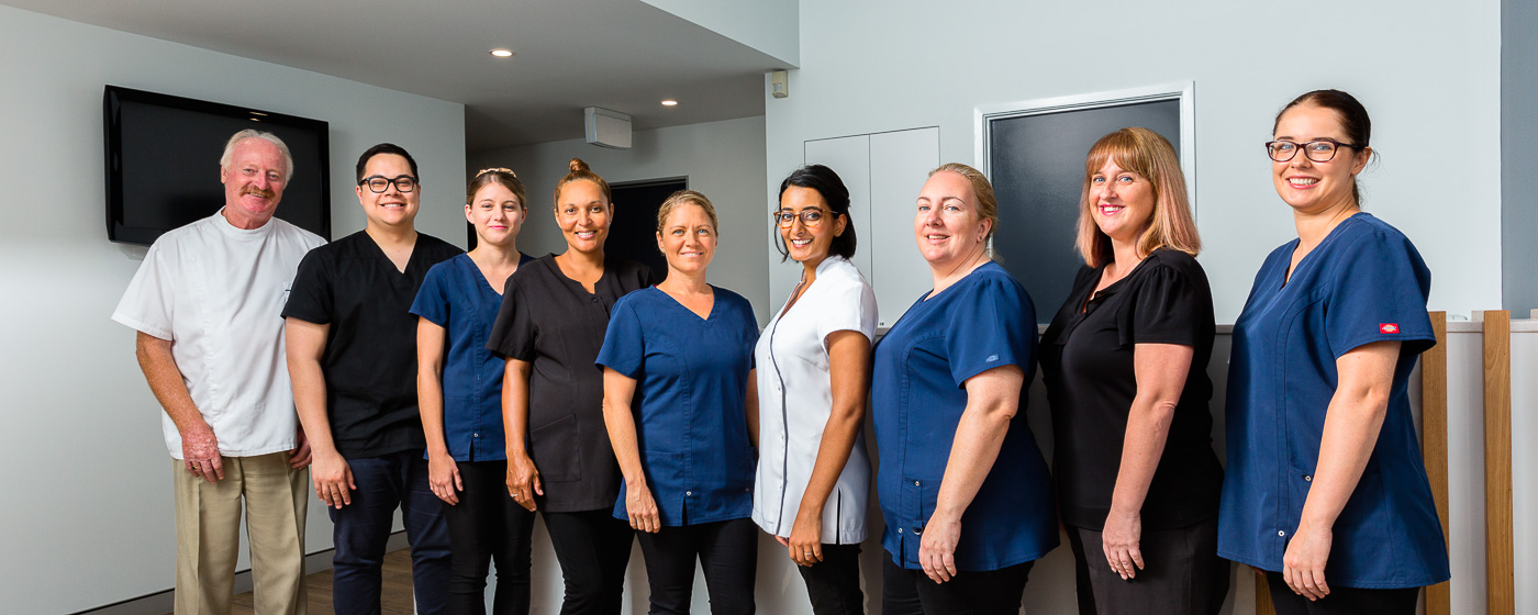 Fenton Dental Mooloolaba family dentist staff